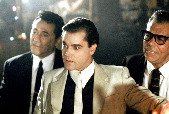 Frank Adonis, Ray Liotta and John Manca in Goodfellas (1990)
