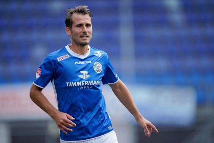 Paco van Moorsel is op dit moment niet zeker van zijn basisplaats bij FC Den Bosch.