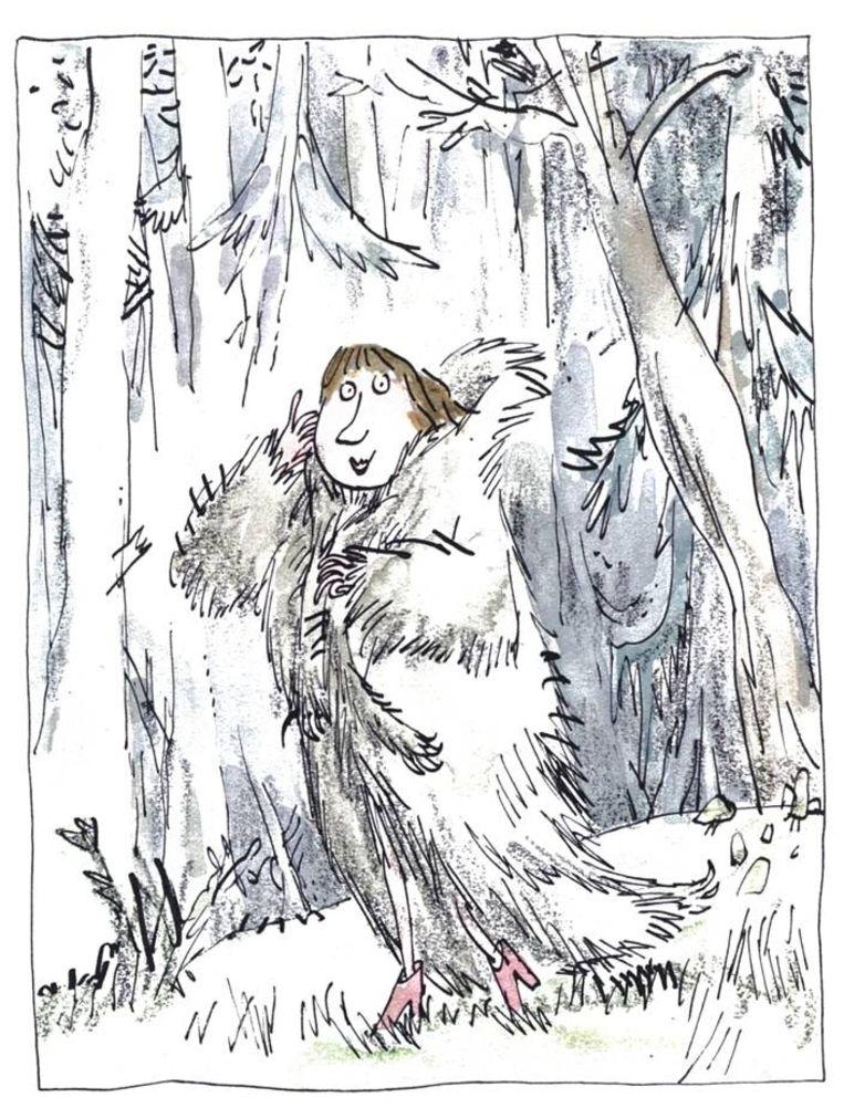Roald Dahl, 'Gruwelijke rijmen', ill. Quentin Blake (2012) Beeld