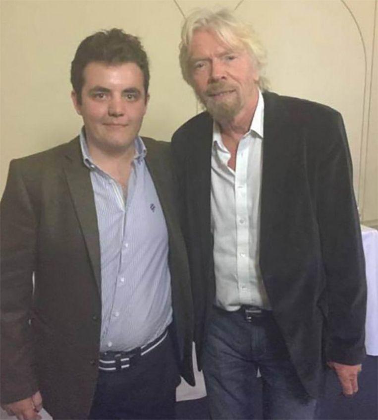 Ollie en Richard Branson, dat andere succesvolle buitenbeentje