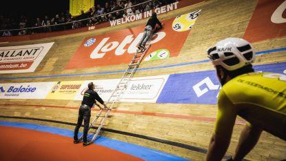 Ploegenrit Zesdaagse Gent even stilgelegd na gemorst bier op piste