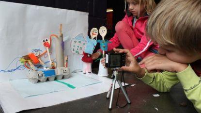 Kunstendag voor kinderen: workshop digitale media en theatervoorstelling