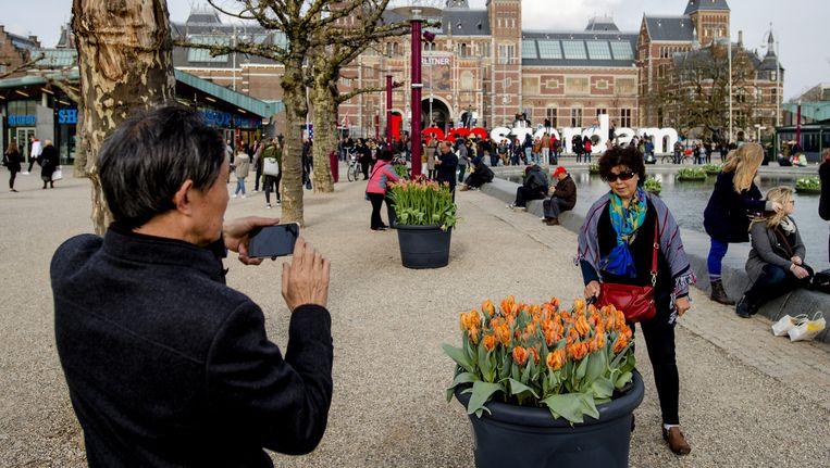 Hoewel er grote verschillen zijn tussen het toerisme in Amsterdam en het extreme toerisme in Venetië, ziet Van der Borg zeker ook overeenkomsten Beeld anp