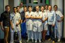 Medewerkers van het Radboudumc laten hun snor staan om geld in te zamelen voor onderzoek naar prostaatkanker.