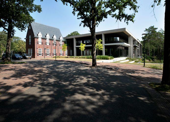 Het Huis van Waalre, zoals het nieuwe gemeentehuis in Waalre wordt genoemd.