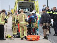Man gewond bij bedrijfsongeval in bouwput Legoland Scheveningen