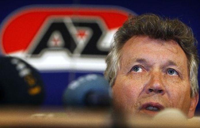AZ maakt bekend dat Dirk Scheringa aftreedt als voorzitter van AZ. ANP