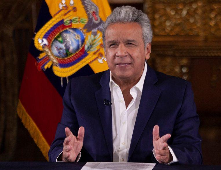 De president van Ecuador, Lenin Moreno.
