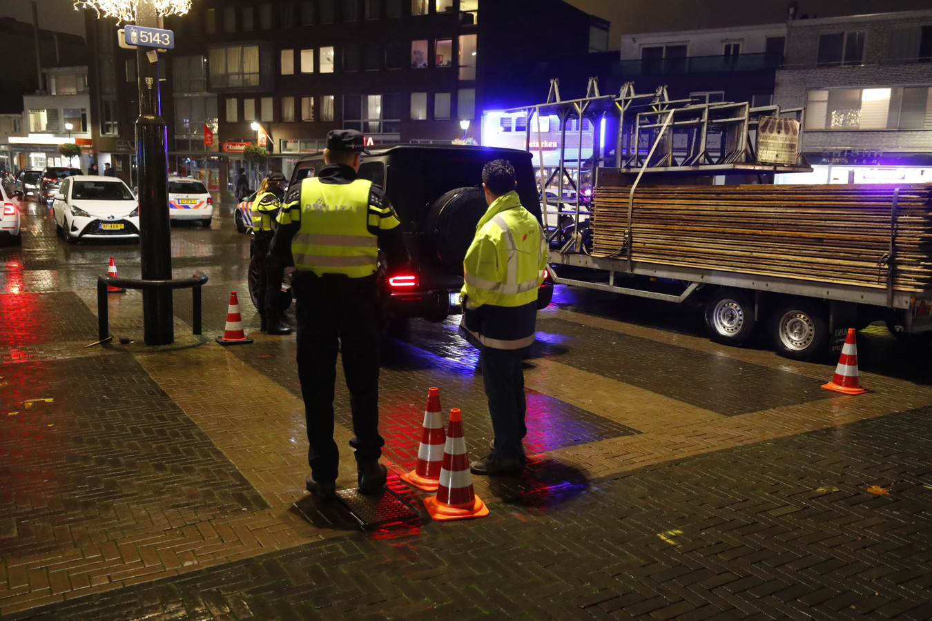 Grote controle rond Kruisstraat