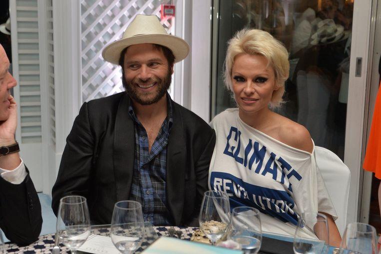 Pamela en Rick Salomon in 2014.