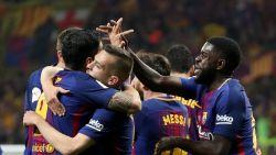 MULTILIVE BUITENLAND: Barcelona maakt brandhout van Sevilla in finale Copa Del Rey: 0-5 al tegen Sevilla