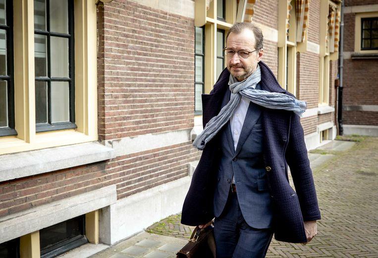 Minister Eric Wiebes van Economische Zaken ontlokte een golf van verontwaardiging met zijn uitspraken over zzp'ers.  Beeld ANP