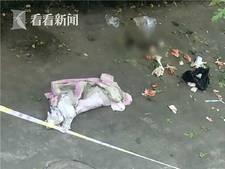 Chinese studente gooit pasgeboren baby van vijf hoog naar beneden