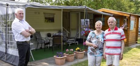 Op de camping in Twente tijdens de coronacrisis: 'Nu blijven we de hele zomer hier'