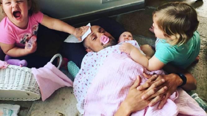 Boonen wilde meer tijd om voor zijn dochtertjes te zorgen, maar voorlopig is het eerder andersom
