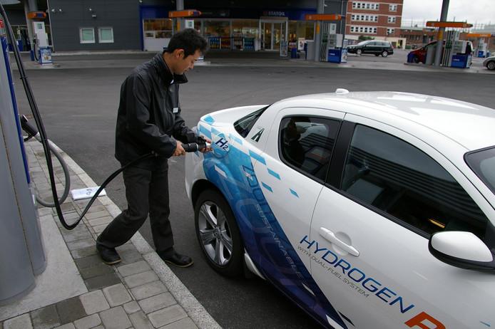 In Noorwegen wordt al waterstof getankt