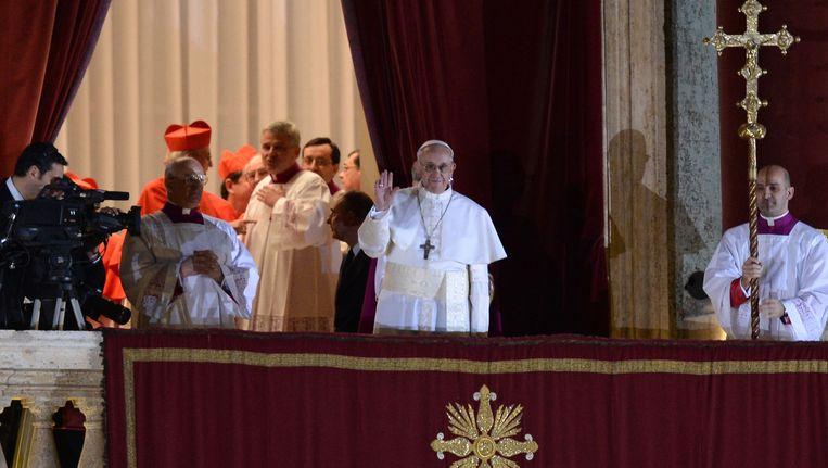 De Argentijnse kardinaal Jorge Mario Bergoglio (76) werd woensdag tot paus gekozen. Beeld anp