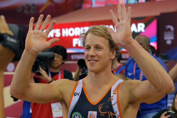 Epke Zonderland weet nog niet of hij volgende maand in actie komt op het WK.