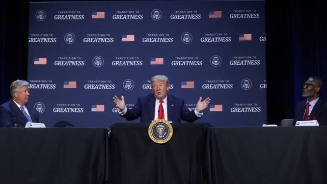 """Trump wil dat politie VS """"sterker"""" wordt"""