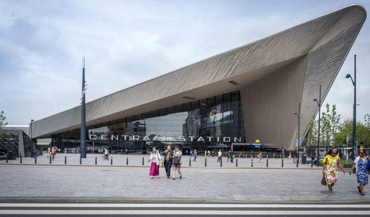 Het centraal station van Rotterdam.  Beeld ANP XTRA