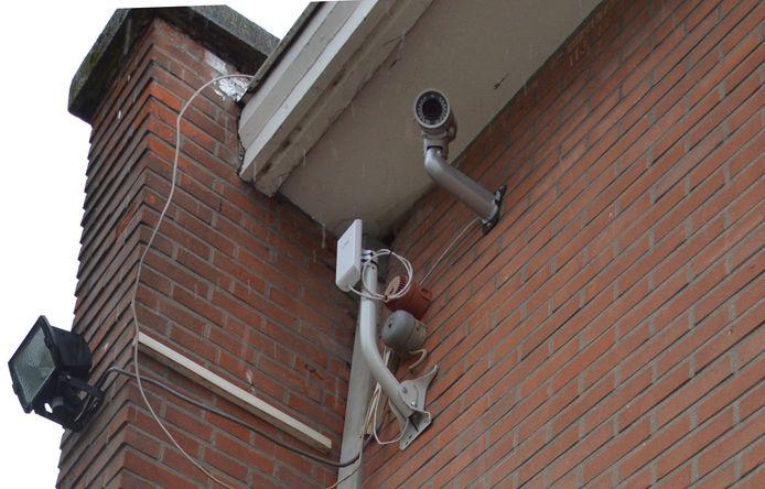 Aan de stedelijke scholen werden er al camera's geplaatst, zoals hier aan basisschool De Lettertuin.