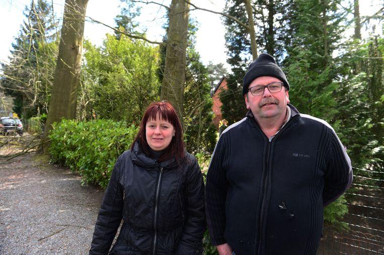 Bewoners Carina Van Rompuy en Marc Van Tongelen.