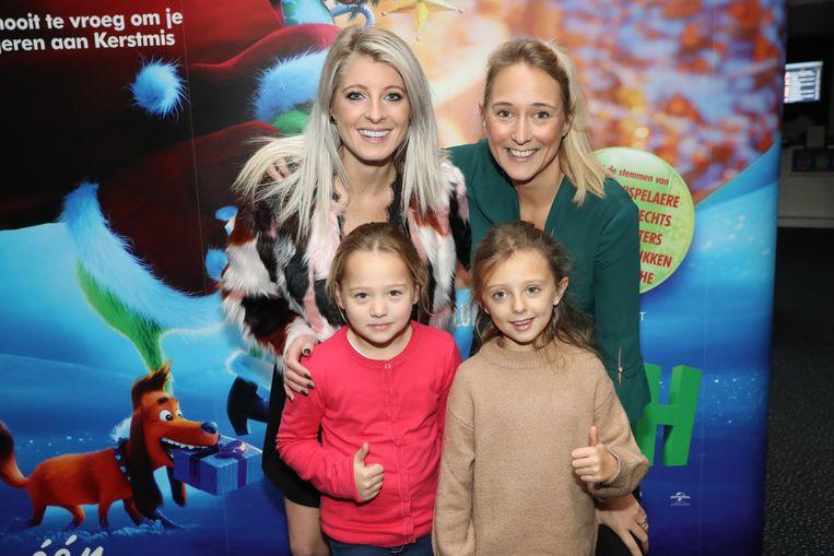 Noah Neal en goede vriendin Isabelle en diens kinderen Michele en Tess