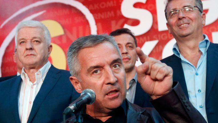 De premier van Montenegro, Milo Djukanovic