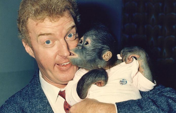 André van Duin in zijn programma Animal Crackers.