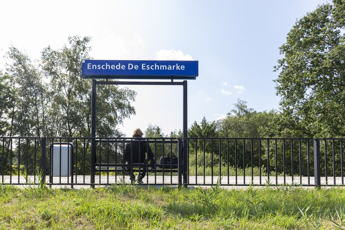 Station Enschede de Eschmarke.