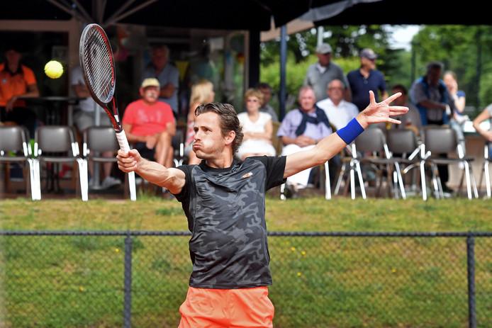 Wesley Koolhof bij een eerdere wedstrijd.