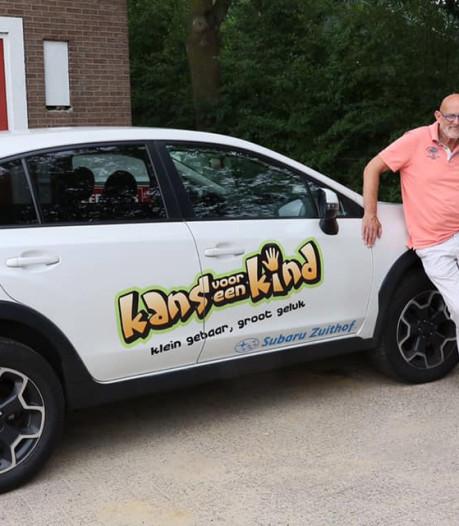 Auto van Stichting Kans voor een Kind na diefstal uit Delden teruggevonden in Almelo