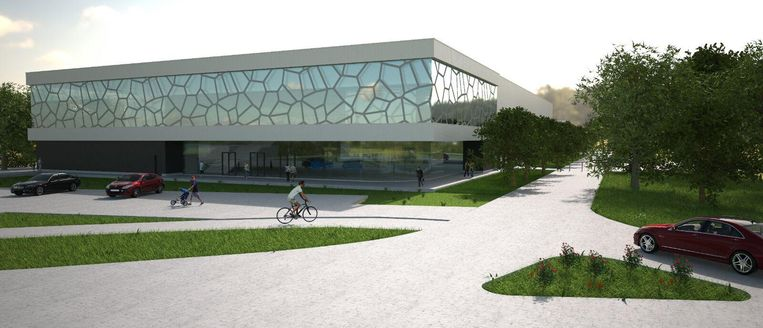 Zo zal het ijssportcentrum eruitzien.