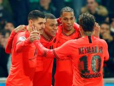 PSG loopt verder uit in Franse competitie