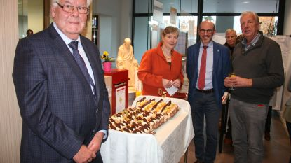 Taart en tentoonstelling voor jarige Sint Vincentius
