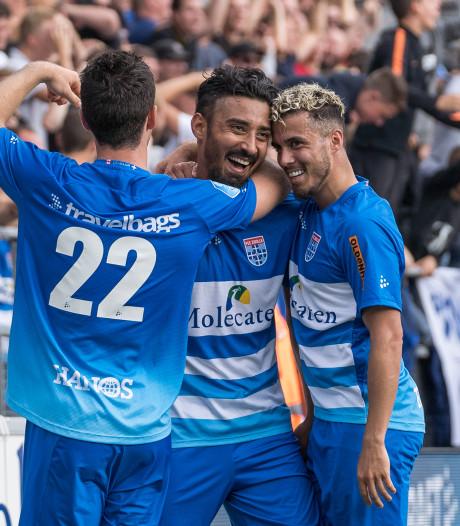 Ghoochannejhad na superdebuut nog niet klaar voor 90 minuten bij PEC Zwolle