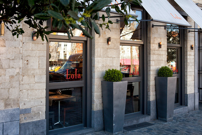 Le restaurant Lola au Sablon.