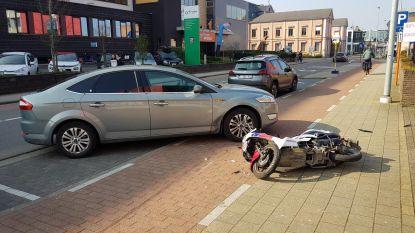 Motorrijder aangereden op boogscheut van spoeddienst
