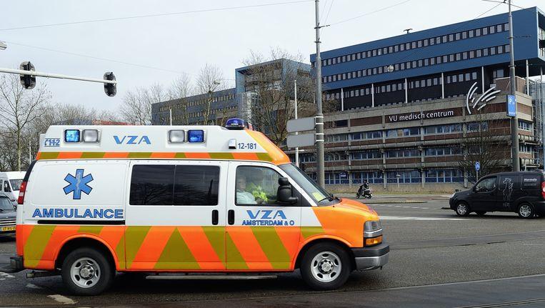 Het Amsterdamse ziekenhuis VUmc. Beeld null
