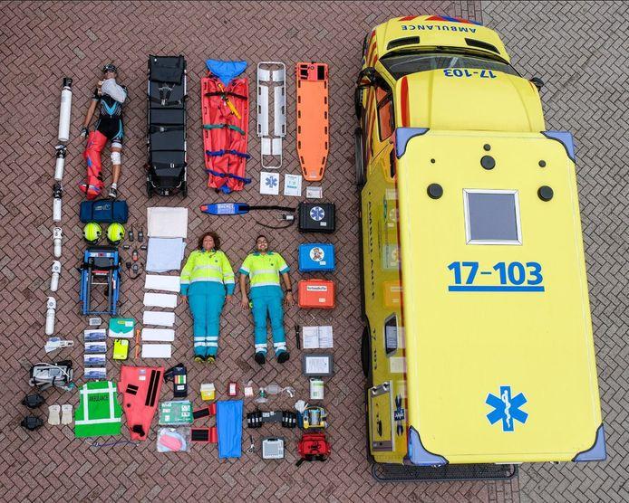 De ambulancedienst van Rotterdam