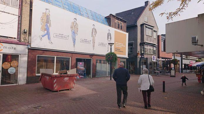 De nieuwe vestiging van Wehberg aan het Walplein opent donderdag.