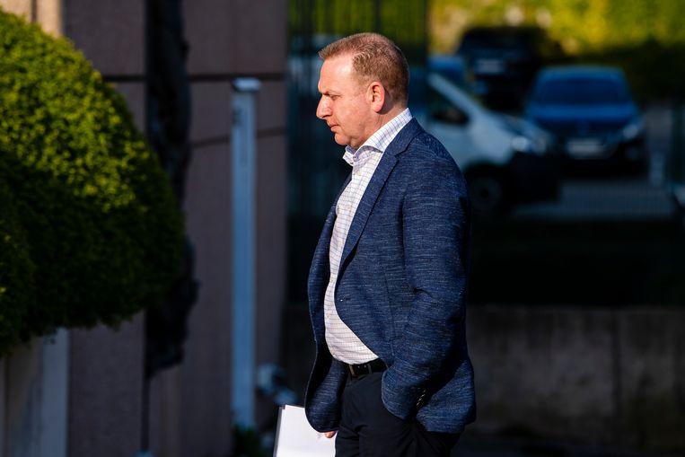 Thierry Steemans, één van de spilfiguren in de zaak.