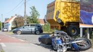 Motorrijder gewond bij verkeersongeval aan De Linde in Melden