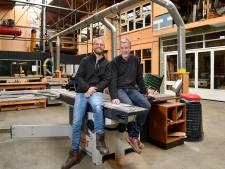 In de creatieve broedplaats van Mark zitten beeldend kunstenaars, een edelsmid, een maker van bamboe fietsframes en een animatiestudio