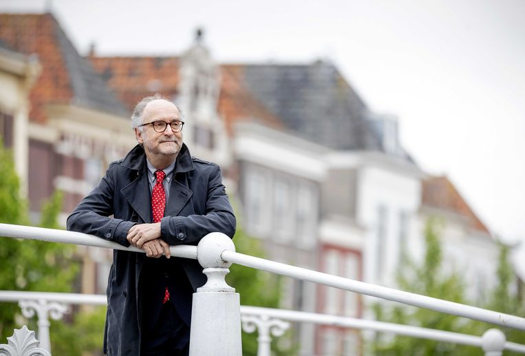 Paul Cliteur, fractievoorzitter van Forum voor Democratie in de Eerste Kamer. Beeld ANP