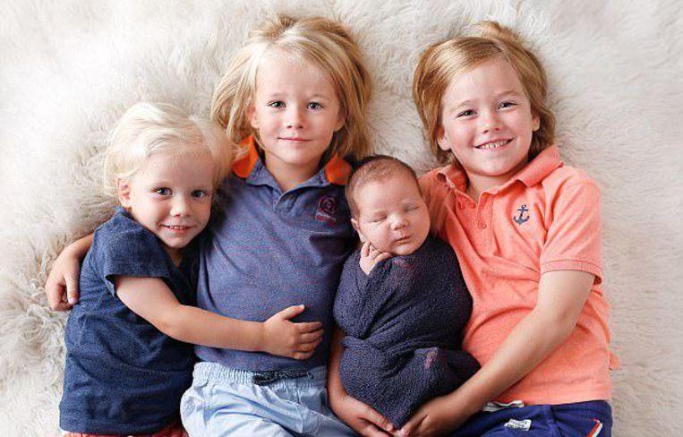 Judah met zijn drie oudere broers.