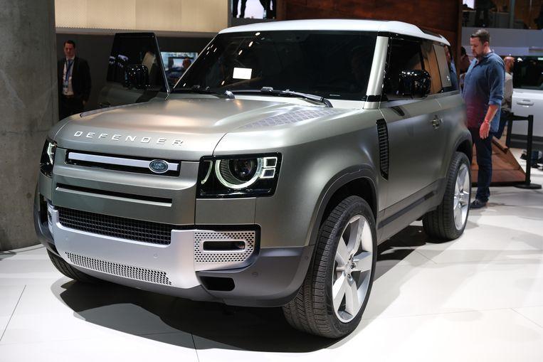 De nieuwe Defender van Land Rover. Beeld Getty Images