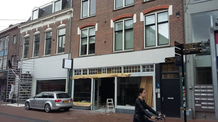 In het pand aan de Ziekerstraat in Nijmegen komt een vestiging van Søstrene Grene. Foto DG
