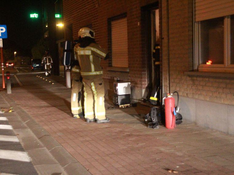 Brandweer rukt uit voor smeulende verdeelstekker