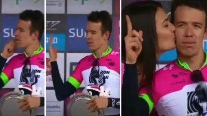 Echte macho's in de sport, ze bestaan nog: zo eist de nummer twee uit de Ronde van Frankrijk zoen van miss